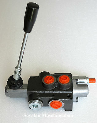 Hydraulic Valve, Hand Control Valve 1 Compartment 50 L / for DW Cylinder / A B