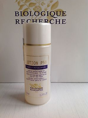 Biologique Recherche Exfoliating Lotion P50 Brand New Sealed Travel Size 50Ml