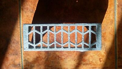 cast iron air brick, victorian