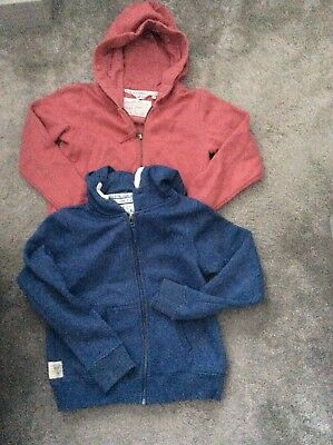 pair of next girls hoodies age 11