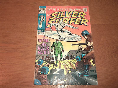 THE SILVER SURFER  #  10  1st Appearance of Yarro Gort