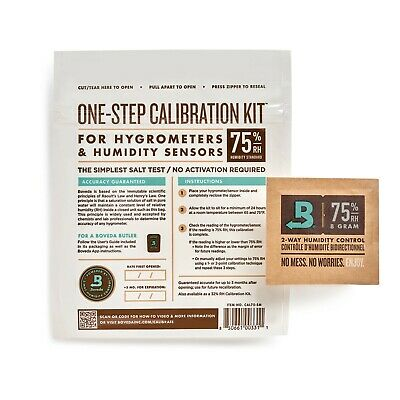 Boveda One-Step Calibration Kit (75.5% Rh) - Small