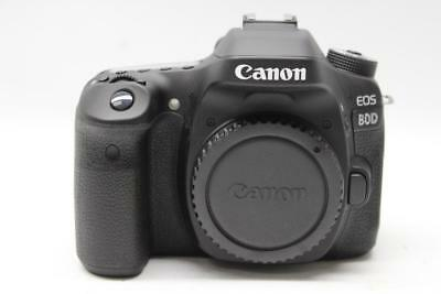 Canon EOS 80D 24.2 MP Digital SLR Camera - (Black) Body Only