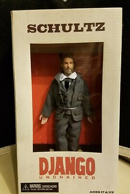 Django Unchained Doll Schultz Movie Box New Misb Figure