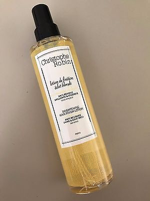 CHRISTOPHE ROBIN Lotion de finition éclat blonds au vinaigre de fruits