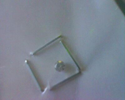 white/blanc diamant/diamond/0,072 ct/SI3>I1,  2,6mm diam/average
