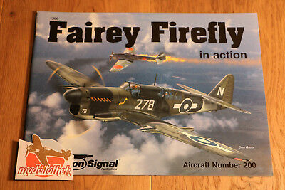 *** Squadron Signal No. 1200 Fairey Firefly In Action ***