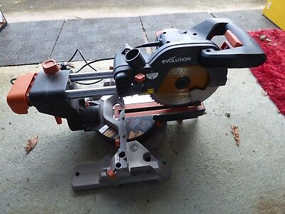 THE NEW R210 SMS Evolution Laser mitre saw