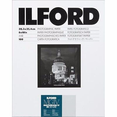 ILFORD MULTIGRADE - B&W negative paper resin coated pearl 8x10in