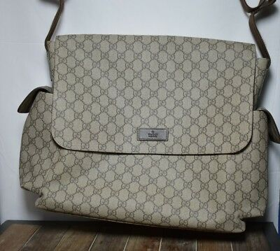 Gucci Baby Diaper Messenger Bag NEW condition MSRP$1100