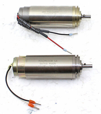 2x Precision Minimotor SA (SWISS MADE) for Leica 2050 Microtomes in one Buy