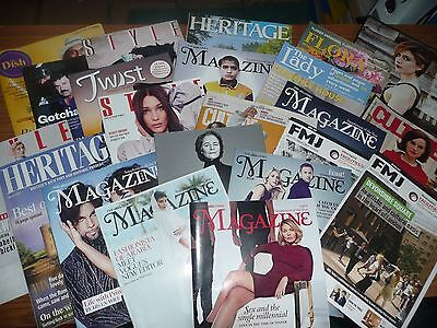 magazines job lot 150