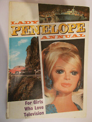 Lady Penelope Annual 1967 Good Condition