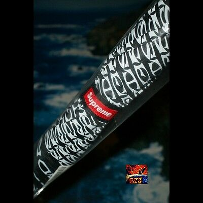 Supreme /Shedrain Umbrella Pissed Black Box Logo Heat PCL CDG SS15