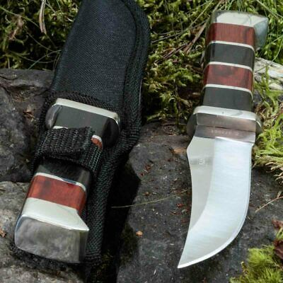 7.91in KANDAR B-24 FIXED BLADE KNIFE HUNTING A.