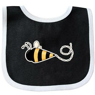 Inktastic Bumble Bee Baby Bib Bear Spring Bug Cute Gift Clothing Infant