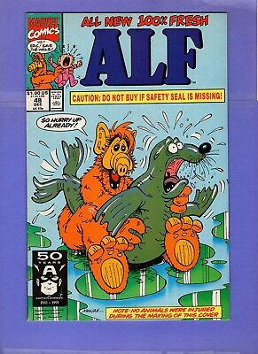 ALF #48  --  Controversial Innuendo Seal cover  -- --  FN/VF  cond.