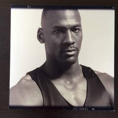 Extremely RARE Michael Jordan Photo from Nike Collection Mounted Image