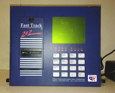 Fast Track 2+2 Drive Thru Timer Phase Research w/Power Cord