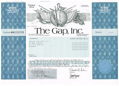 The Gap, Inc, 2000