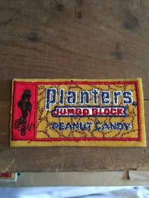 Vintage Planters Peanuts Candy Patch Jumbo Block