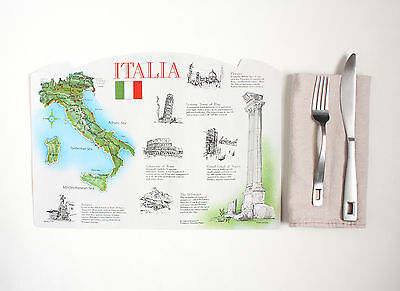 15 Pack Of Paper Placemats Italy Design Free Shipping