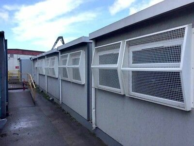 5 Bay Modular Building ready for installation for most requirements