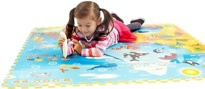 Creative Baby Interactive Mat 2-pack Animal World and Under Sea with Voice Pen
