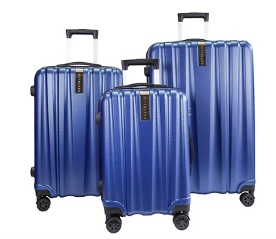 3 PC Luggage Suitcase Set Spin Wheels Travel Carry On Bag Hard Case Lightweight