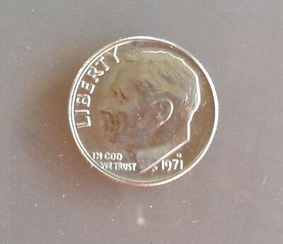 USA 1971  DIME ~ Superb example~hardly circulated