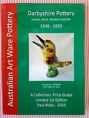 Darbyshire Pottery Collectors Price Guide 2015  Australian Pottery