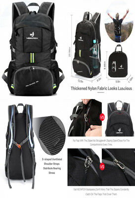 0fa7c9fb6c35 NEEKFOX LIGHTWEIGHT PACKABLE Travel Hiking Backpack Daypack