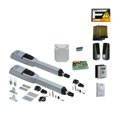 Faac master kit 415 230v automazione cancello battente for Faac eco kit