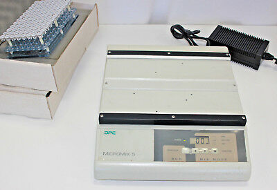 DPC MicroMix 5 Microplate Shaker, Four Positions + Accessory Tube Racks