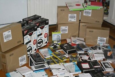 Huge Wholesale Lot 100+ New Items Samsung Galaxy, WII, Car Mounts RESALE LOT # 7