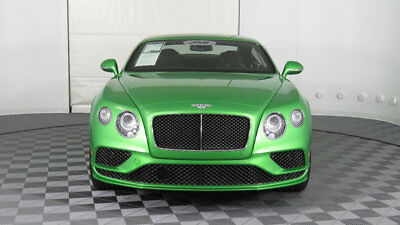 2016 Bentley Continental GT 2dr Coupe Speed 2016 Bentley Continental GT - Rare Apple Green, Ventilated Massage Front Seats
