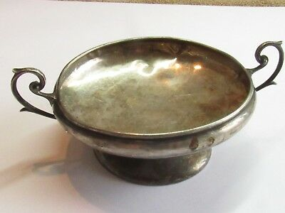 VERY RARE Vintage Sterling Silver Salver by Francis Howard Ltd 66 GRAMS ANT#154