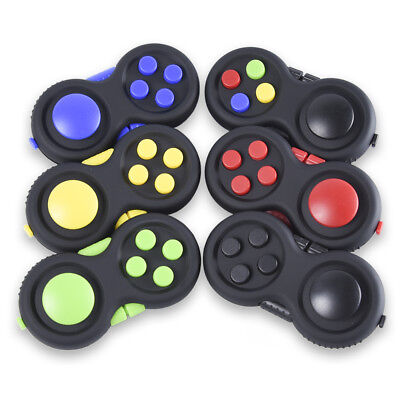 Fidget Pad Hand Finger EDC Gamepad Controller Focus Toy Stress Relieves Spinner
