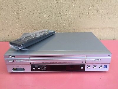 Fully Serviced LG GC-480 Video Recorder Player + remote VHS Player VCR E