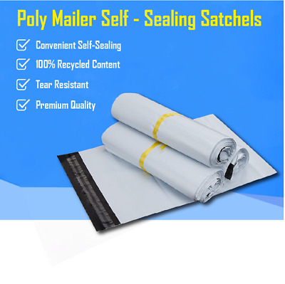 600 x 650mm Poly Mailer Plastic Satchel Courier Self Sealing Shipping Bag