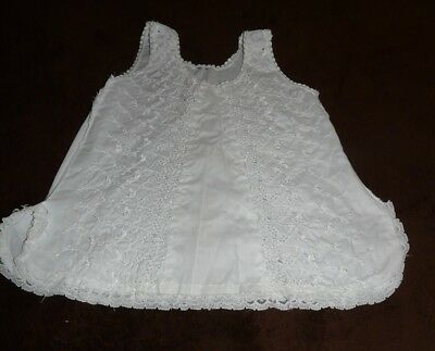 Vintage Toddler Slip ~ Lace and Ebroidery ~ White ~ 2 or 3T?