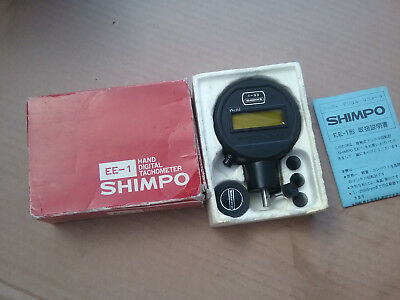 Shimpo EE-1 Palm-Size Contact Digital Tachometer
