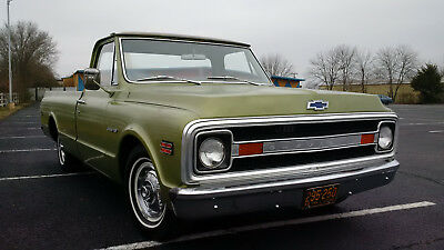 1969 Chevrolet C-10 Custom C10 1969 Chevy 1 Owner Low Mileage Original Survivor Hot Rod No Rat Rod Truck