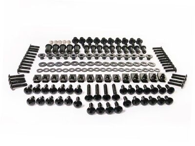 Black Fairing Bolt Kit Fasteners Screws for Honda CBR 600 RR 2009-2012 600RR