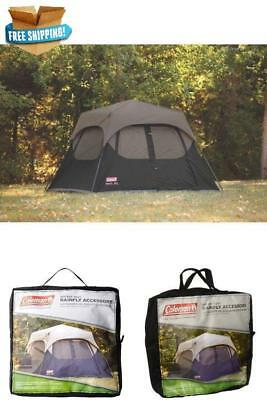 Coleman 6-Person Instant Tent Rainfly Accessory 10u0027x9u0027 Sleep C&ing Outdoor New & COLEMAN 6-PERSON Instant Tent Rainfly Accessory 10u0027x9u0027 Sleep ...