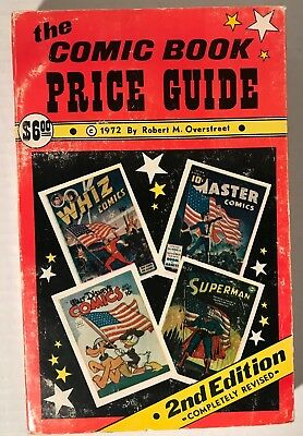 OVERSTREET PRICE GUIDE #2: UNREAD The Comic Book Price Guide 1972 (VF or better)