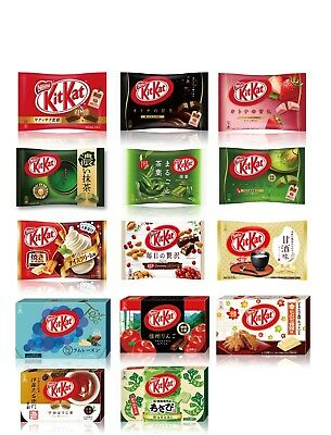 Japanese KitKat mix Gift bag 15 Flavors 23pc AU Stock Perfect for Gift
