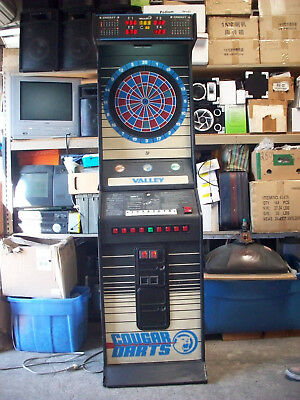 D158 Valley Cougar Sm Electronic Dart Board