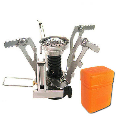 Mini Foldable Camping Hiking Steel Stove Outdoor Picnic Camping Gas Burner