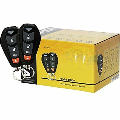 VIPER 3106V 1 Way Car Alarm Vehicle Security Keyless Entry System Remote Sensor